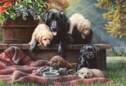Cozy Moments Dogs Jigsaw Puzzle