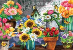 Sunnyside Flower Market Flowers Jigsaw Puzzle