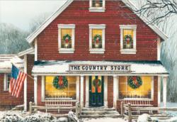 Country Store Christmas Jigsaw Puzzle