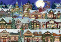 Ye Olde Christmas Village Christmas Jigsaw Puzzle