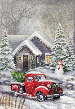 Ready for the Tree Christmas Jigsaw Puzzle
