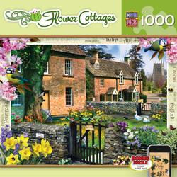 Tulip Cottage (Flower Cottages) Garden Jigsaw Puzzle