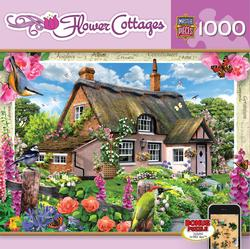 Foxglove Cottage Cottage / Cabin Jigsaw Puzzle