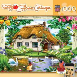 Swan Cottage (Flower Cottages) Lakes / Rivers / Streams Jigsaw Puzzle
