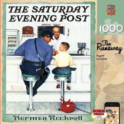 The Runaway (The Saturday Evening Post) Americana & Folk Art Jigsaw Puzzle