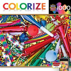 Colorize - Toot Your Horn Everyday Objects Jigsaw Puzzle