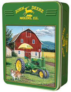 My Two Best Friends (John Deere Tins) John Deere Jigsaw Puzzle