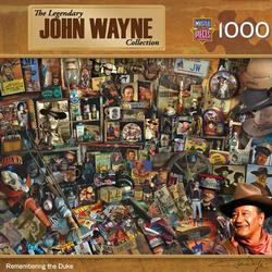 John Wayne - Remembering the Duke Movies / Books / TV Jigsaw Puzzle