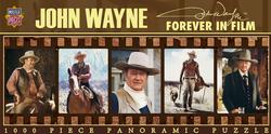 John Wayne - Forever in Film Movies / Books / TV Panoramic Puzzle
