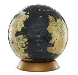 Game of Thrones Globe : 6 inch Game of Thrones 4D Puzzle