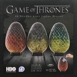 3D Game of Thrones Dragon Eggs Jigsaw Puzzle Game of Thrones 3D Puzzle