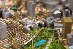 Boston, USA Landmarks Jigsaw Puzzle