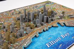 Seattle Cities 4D Puzzle