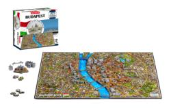4D Budapest - Scratch and Dent Europe 4D Puzzle