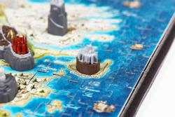 4D Mini Game of Thrones: Westeros Maps Miniature