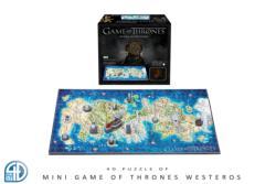 4D Mini Game Of Thrones: Westeros (Mini) Game of Thrones 4D Puzzle