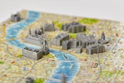 4D Mini London Maps / Geography Miniature Puzzle
