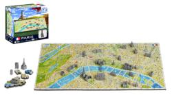 4D Mini Paris Maps / Geography Miniature Puzzle