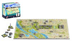 4D Mini Washington D.C. Maps / Geography Miniature Puzzle