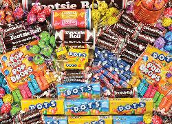 Tootsie (Candy Brands) Sweets Jigsaw Puzzle