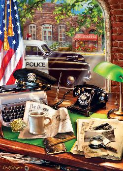 Local Law (Hometown Heroes) Vehicles Jigsaw Puzzle