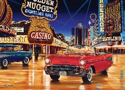 Gamblin' Man (Cruisin') Nostalgic / Retro Jigsaw Puzzle