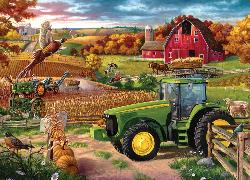100 Years of Deere Fall Jigsaw Puzzle