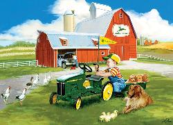 Little Handyman (John Deere) Baby Animals Jigsaw Puzzle