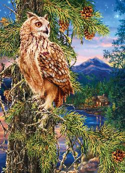 Night Watch (Peek Season) Forest Jigsaw Puzzle