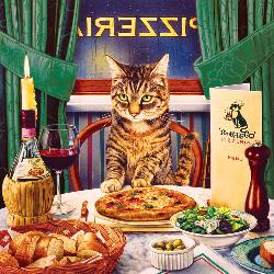 Luciano (Catology) Food and Drink Jigsaw Puzzle