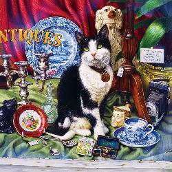 Jess (Catology) Nostalgic / Retro Jigsaw Puzzle