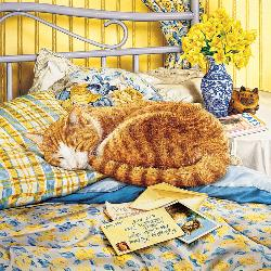 Flora (Catology) Domestic Scene Jigsaw Puzzle