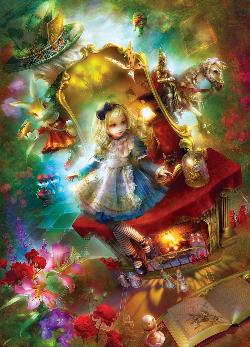 Lost in Wonderland Movies / Books / TV Jigsaw Puzzle