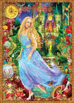 Cinderella's Glass Slipper (Book Boxes) Hearts Jigsaw Puzzle