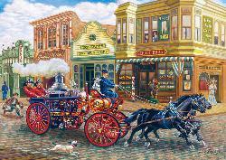 Fire Brigade (Signature Series) Nostalgic / Retro Jigsaw Puzzle