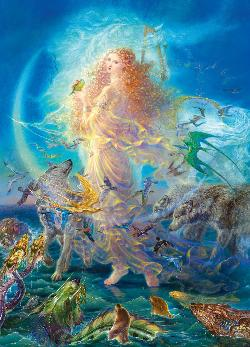 Rhiannon Mythology Jigsaw Puzzle