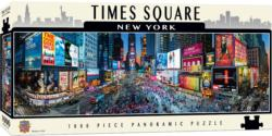 Times Square (Panoramic Puzzle) - Scratch and Dent Cities Panoramic