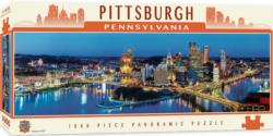 Pittsburgh Lakes / Rivers / Streams Panoramic Puzzle