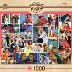 Romance Collage (The Saturday Evening Post) Nostalgic / Retro Jigsaw Puzzle