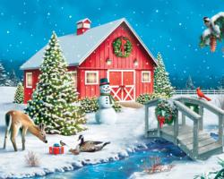 Nature's Gift Winter Jigsaw Puzzle