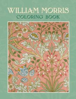 William Morris Coloring Book Flowers Coloring Book