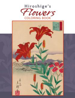 Coloring Book - Hiroshiges Flowers Coloring Book