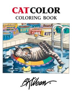 Catcolor Coloring Book Cats Coloring Book