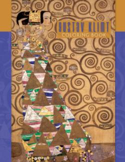Gustav Klimt Coloring Book Contemporary & Modern Art Coloring Book