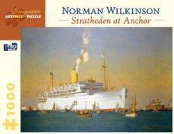 Stratheden At Anchor - Scratch and Dent Boats Jigsaw Puzzle