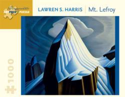 Mt Lefroy Landscape Jigsaw Puzzle