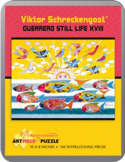 Guerrero Still Life XVIII (Mini Tin) Fish Collectible Packaging