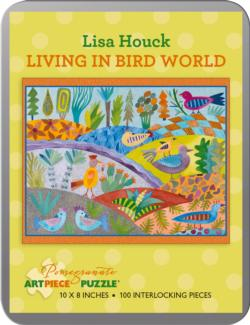 Living in Bird World (Mini Tin) Birds Collectible Packaging