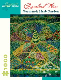 Geometric Herb Garden Garden Jigsaw Puzzle