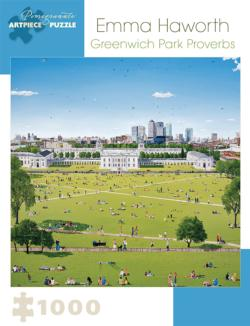 Greenwich Park Proverbs People Jigsaw Puzzle